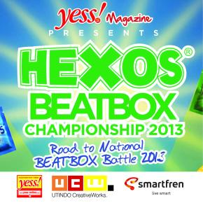 Hexos Beatbox Championship 2013 – The Roadshow : ROAD TO NATIONAL BEATBOX BATTLE 2013 : Jadwal, Persyaratan & Ketentuan